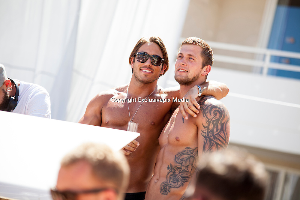 EXCLUSIVE<br /> 'James Lock and Dan Osborn - Pool Star Party BH Mallorca'<br /> &copy;Exclusivepix Media