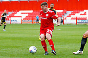 Accrington Stanley forward Billy Kee (29)  during the EFL Sky Bet League 1 match between Accrington Stanley and AFC Wimbledon at the Fraser Eagle Stadium, Accrington, England on 22 September 2018.