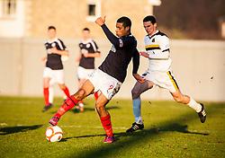 Falkirk's Lyle Taylor..Dumbarton 0 v 2 Falkirk, 23/2/2013..©Michael Schofield.