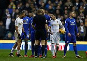 Referee Graham Scott during the EFL Sky Bet Championship match between Leeds United and Cardiff City at Elland Road, Leeds, England on 3 February 2018. Picture by Paul Thompson.