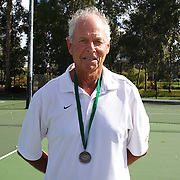 Terry Smith, Australia, Runner up, 60 Mens Singles competition during the 2009 ITF Super-Seniors World Team and Individual Championships at Perth, Western Australia, between 2-15th November, 2009