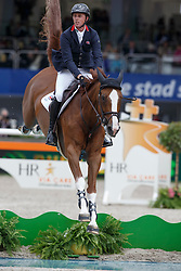 Maher Ben, (GBR), Diva II<br /> Furusiyya FEI Nations Cup™ presented by Longines<br /> CHIO Rotterdam 2015<br /> © Hippo Foto - Dirk Caremans<br /> 19/06/15