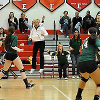 10.22.2013 Elyria Catholic vs Cuyahoga Heights Volleyball