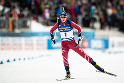 March 9, 2019 - –Stersund, Sweden - 190309 Andrejs Rastorgujevs of Latvia competes in the Men's 10 KM sprint during the IBU World Championships Biathlon on March 9, 2019 in Östersund..Photo: Johan Axelsson / BILDBYRÃ…N / Cop 245 (Credit Image: © Johan Axelsson/Bildbyran via ZUMA Press)