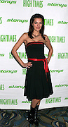 NEW YORK - OCTOBER 24: Model Adrianne Curry attends the 6th Annual High Times Stony Awards at B.B. King's on October 20, 2006 on Broadway in New York City.
