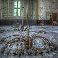 An abandoned care home for kids in East Germany