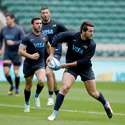 Argentina Captains Run at Twickenham Stadium, Twickenham - 07/10/2016<br /> ©Matthew Impey / Wired Photos<br /> Picture by Matt Impey +44 7789 130347