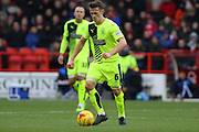 Huddersfield Town midfielder Jonathan Hogg makes a run from midfield during the Sky Bet Championship match between Nottingham Forest and Huddersfield Town at the City Ground, Nottingham, England on 13 February 2016. Photo by Aaron  Lupton.