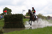 Nicki Harrison on W Summer Love during the International Horse Trials at Chatsworth, Bakewell, United Kingdom on 12 May 2018. Picture by George Franks.