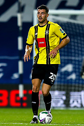 Connor Hall of Harrogate Town - Mandatory by-line: Robbie Stephenson/JMP - 16/09/2020 - FOOTBALL - The Hawthorns - West Bromwich, England - West Bromwich Albion v Harrogate Town - Carabao Cup