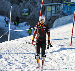 09.10.2014, Dachstein Gletscher, Ramsau, AUT, FIS Weltcup Langlauf, Langlauftraining am Dachstein, im Bild Claudia Nystad (GER) // Claudia Nystad of Germany during Training for upcoming FIS Cross Country Season at the Dachstein Gletscher in Ramsau, Austria on 2014/10/09. EXPA Pictures © 2014, PhotoCredit: EXPA/ Martin Huber
