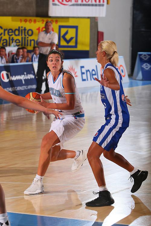 DESCRIZIONE : Bormio Torneo Internazionale Femminile Olga De Marzi Gola Italia Grecia <br /> GIOCATORE : Monica Bonafede <br /> SQUADRA : Nazionale Italia Donne Italy <br /> EVENTO : Torneo Internazionale Femminile Olga De Marzi Gola <br /> GARA : Italia Grecia Italy Greece <br /> DATA : 24/07/2008 <br /> CATEGORIA : Passaggio <br /> SPORT : Pallacanestro <br /> AUTORE : Agenzia Ciamillo-Castoria/S.Silvestri <br /> Galleria : Fip Nazionali 2008 <br /> Fotonotizia : Bormio Torneo Internazionale Femminile Olga De Marzi Gola Italia Grecia <br /> Predefinita :