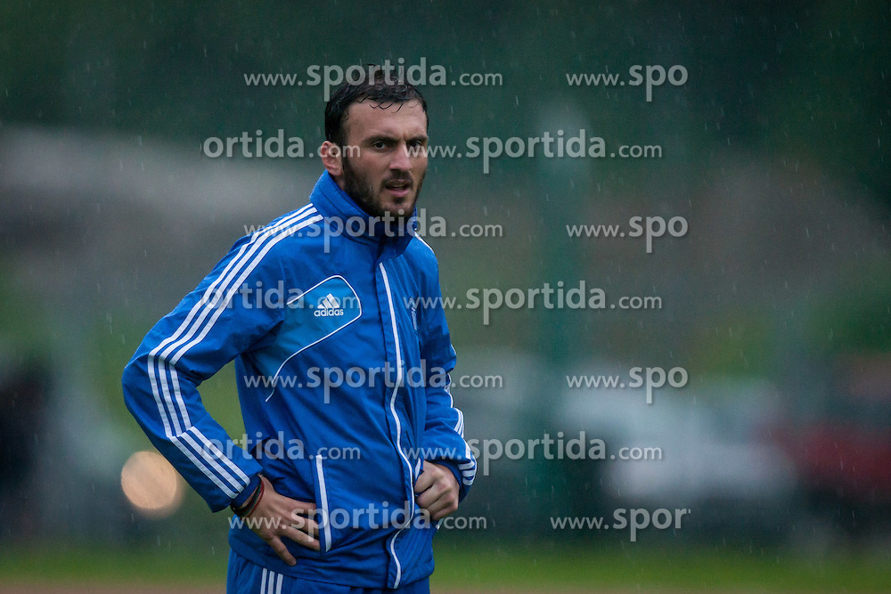 23.05.2012, Casino Stadion, Kitzbuehel, AUT, UEFA EURO 2012, Trainingscamp, Griechenland, Training, im Bild Vassilios Torosidis, (GRE) // during a trainings Session of Greece National Footballteam for preparation UEFA EURO 2012 at Casino Stadium, Kitzbuehel, Austria on 2012/05/23. EXPA Pictures © 2012, PhotoCredit: EXPA/ Juergen Feichter
