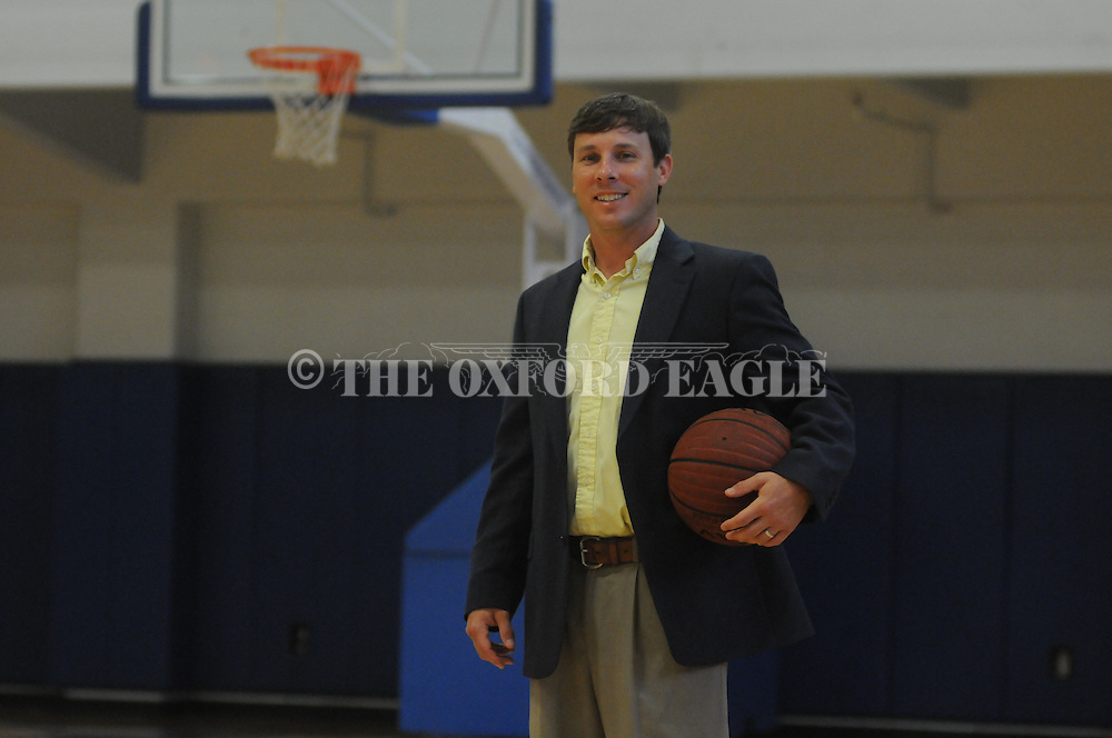 Cliff Orman, in Oxford, Miss. on Tuesday, April 28, 2015, has been hired as the new girls basketball coach at Oxford High School.
