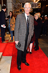 © Licensed to London News Pictures. 16/02/2016. PAUL O'GRADY arrives for the press night of Mrs Henderson Presents press night at the Noel Coward Theatre. London, UK. Photo credit: Ray Tang/LNP