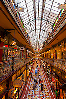 The Strand Arcade (a Victorian shopping arcade in the Central Business DIstrict), Sydney, New South Wales, Australia
