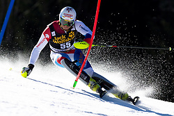 GINI Marc of Switzerland during the 1st Run of Men's Slalom - Pokal Vitranc 2014 of FIS Alpine Ski World Cup 2013/2014, on March 9, 2014 in Vitranc, Kranjska Gora, Slovenia. Photo by Matic Klansek Velej / Sportida