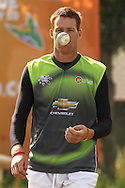 Rusty Theron of the Warriors during the Warriors training session held at St Georges Park in Port Elizabeth on the 16 September 2010..Photo by: Shaun Roy/SPORTZPICS/CLT20