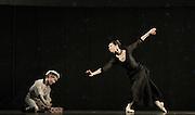Anna Karenina<br /> chorography by Alexei Ratmansky <br /> The Mariinsky Ballet <br /> at The Royal Opera House, London, Great Britain <br /> rehearsal of Act 1<br /> 9th August 2011 <br /> <br /> Roman Surkov (as Seryozha)<br /> Diana Vishneva (as Anna Karenina)<br /> <br /> <br /> Photograph by Elliott Franks