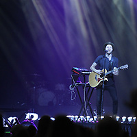 Dan Bremnes gets the pre-jam party underway Thursday night at the BancorpSouth Arena in Tupelo. The 2018 Winter Jam concert featured acts like Newsong, Nick Hall, Skillet, KB and others.