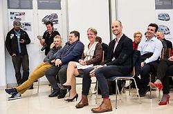 Marko Kump, …, Sonja Gole, Tomaz Grm, Ales Kalan during press conference and presentation of cycling club KK Adria Mobil for season 2016, on March 3, 2016 in Novo mesto, Slovenia. Photo by Vid Ponikvar / Sportida