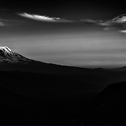 Mount Rainier from Goat Rocks Wilderness
