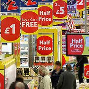 "TESCO STORE IN CAMBRIDGE..The UK's biggest retailer, Tesco, has said it enjoyed its best Christmas performance for three years, after seeing a ""strong"" rise in sales...UK like-for-like sales - which do not include new store openings - excluding petrol and VAT, had risen by 4.9% in the six weeks to 9 January, Tesco said. ..However, Tesco offered double points on its Clubcard loyalty scheme, which contributed 0.7% to the sales growth. .."