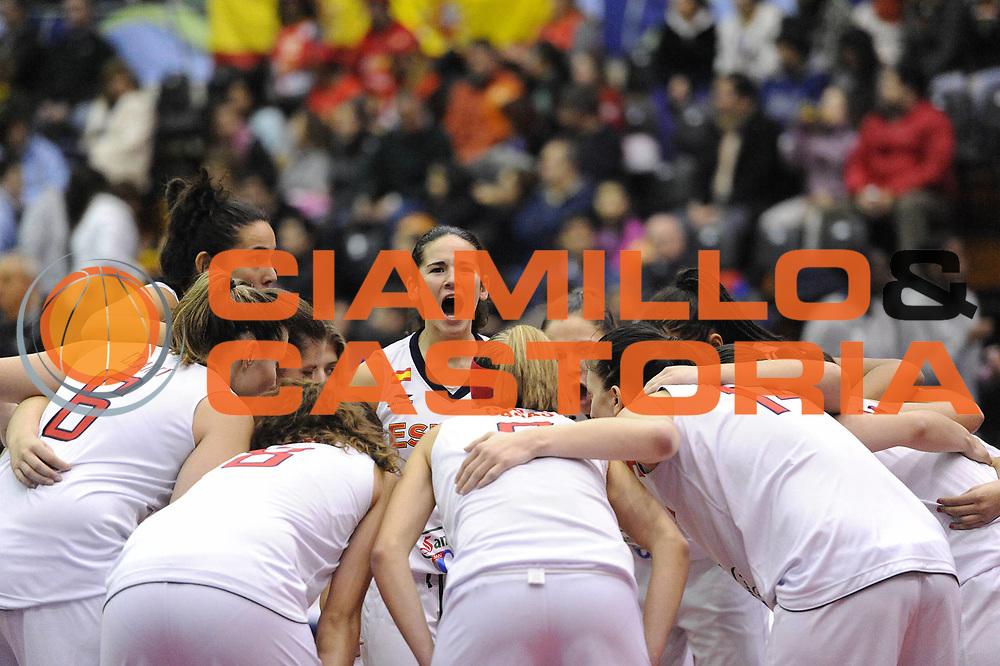 DESCRIZIONE : Chile Cile U19 Women World Championship 2011 Australia Spagna Spain<br /> GIOCATORE : Marina Delgado team<br /> SQUADRA : Spagna Spain<br /> EVENTO : Chile Cile U19 Women World Championship 2011 <br /> GARA : Australia Spagna Spain<br /> DATA : 30/07/2011<br /> CATEGORIA : before curiosita<br /> SPORT : Pallacanestro <br /> AUTORE : Agenzia Ciamillo-Castoria/C.De Massis<br /> Galleria : Fiba U19 World Championship Women Chile 2011<br /> Fotonotizia : Chile Cile U19 Women World Championship 2011 Australia Spagna Spain<br /> Predefinita :