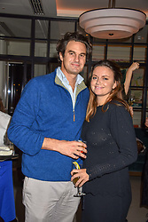 21 November 2019 - Lady Natasha Rufus Isaacs and her husband Rupert Finch at the launch of Sam's Riverside Restaurant, 1 Crisp Walk, Hammersmith hosted by owner Sam Harrison, Edward Taylor and Jack Brooksbank.<br /> <br /> Photo by Dominic O'Neill/Desmond O'Neill Features Ltd.  +44(0)1306 731608  www.donfeatures.com