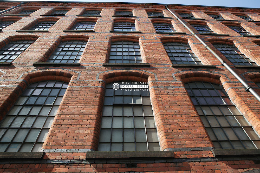 Regeneration of the old building 'Bentwood factory' in Nottingham,