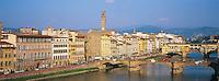 Italie, Toscane, Florence, fleuve Arno // Italy, Tuscany, Florence, Arno river