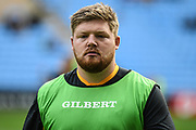 Wasps prop Jack Owlett during the Gallagher Premiership Rugby match between Wasps and London Irish at the Ricoh Arena, Coventry, England on 20 October 2019.