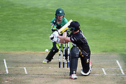 Wellington Firebirds batsman Ollie Newton out bowled to the bowling of Central Stags' Ajaz Patel during the Burger King Super Smash 2018/19 game between Wellington Firebirds vs Central Stags, Basin Reserve, Wellington, Friday 01st February 2019. Copyright Photo: Raghavan Venugopal / © www.Photosport.nz 2019