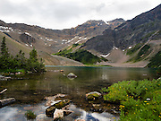 Gorman Lake is a beautiful alpine lake in the heart of the Canadian Rockies, and not too difficult of a hike. Near Golden, BC, Canada.
