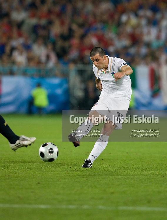 Antonio Di Natale. Spain - Italy. Euro 2008. Quarterfinal. Vienna 22.6.2008. Photo: Jussi Eskola