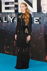 © Licensed to London News Pictures. 09/05/2016. SOPHIE TURNER attends the global fan screening of X-Men: Apocalypse.  London, UK. Photo credit: Ray Tang/LNP