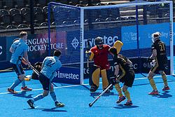 Reading v Beeston - Men's T1 Final, Lee Valley Hockey & Tennis Centre, London, UK on 07 May 2018. Photo: Simon Parker
