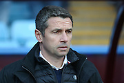 Aston Villa Manager Remi Garde  during the Barclays Premier League match between Aston Villa and Tottenham Hotspur at Villa Park, Birmingham, England on 13 March 2016. Photo by Simon Davies.