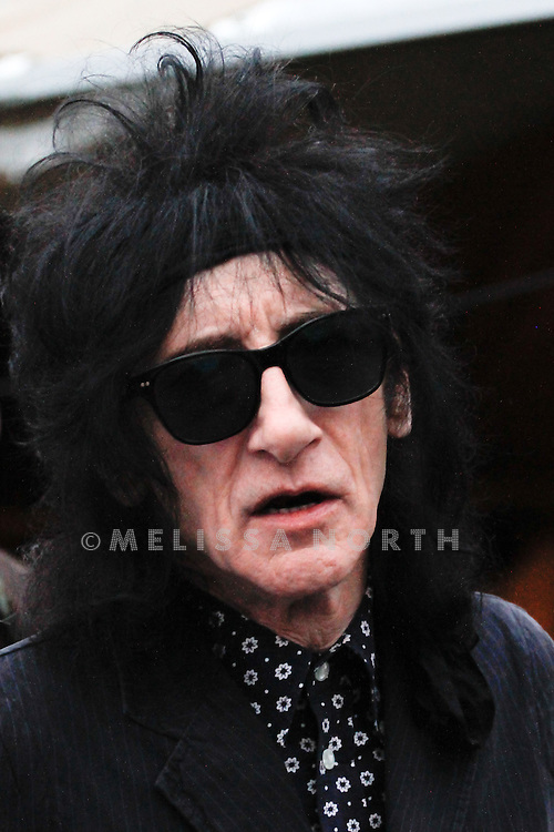 Poet John Cooper Clarke at Standon Calling, Herts on 13 August 2011. JPH/B2779