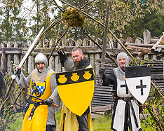 Duncarron Medieval Village Opening, Carron Valley Forest, 18 May 2019