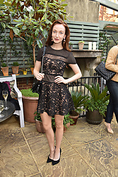 Olivia Grant at The Ivy Chelsea Garden's Annual Summer Garden Party, The Ivy Chelsea Garden, 197 King's Road, London England. 9 May 2017.<br /> Photo by Dominic O'Neill/SilverHub 0203 174 1069 sales@silverhubmedia.com