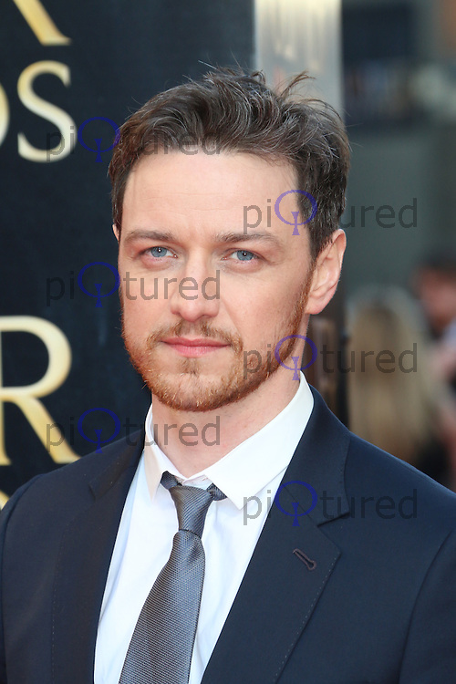 James McAvoy, The Laurence Olivier Awards, Royal Opera House, London UK, 13 April 2014, Photo by Richard Goldschmidt