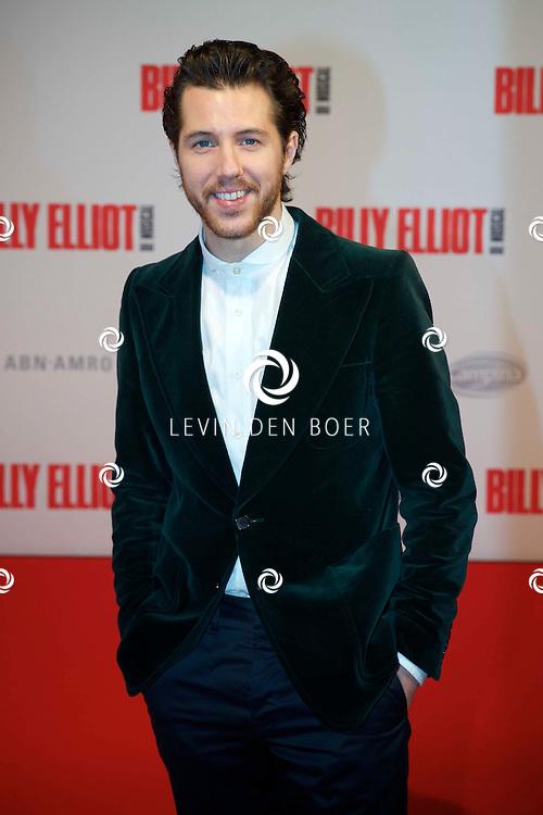 DEN HAAG - In het Afas Theater is de Nederlandse Premiere van Billy Eliot. Met hier op de foto  William Spaaij. FOTO LEVIN DEN BOER - PERSFOTO.NU