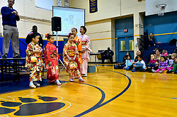 On Wednesday morning the annual Cherry Blossom Festival is kicked-off with drums at the Philadelphia School of the Deaf in Germantown.