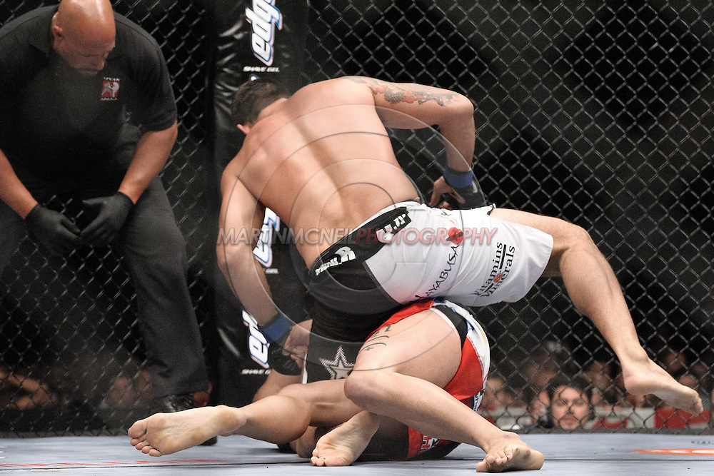 """LONDON, ENGLAND, JUNE 7, 2008: during """"UFC 85: Bedlam"""" inside the O2 Arena in Greenwich, London on June 7, 2008."""