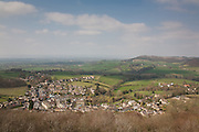 View of North Nibley from the Tyndale Monument, Gloucestershire