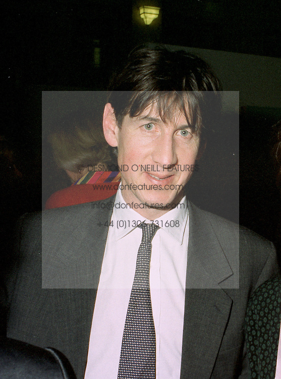 MR ANTHONY MOULD the art expert at a reception in London on 13th May 1997.LYH 68 MO