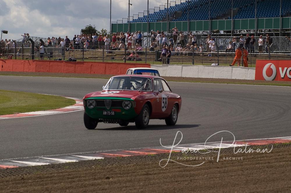 Alfa Romeo Team at Siverstone Classic 2009