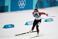 February 17, 2018 - Pyeongchang, SOUTH KOREA - 180217 Lena Haecki of Switzerland competes in the  Women's 12.5km Mass Start during day eight of the 2018 Winter Olympics on February 17, 2018 in Pyeongchang..Photo: Petter Arvidson / BILDBYRN / kod PA / 87632 (Credit Image: © Petter Arvidson/Bildbyran via ZUMA Press)