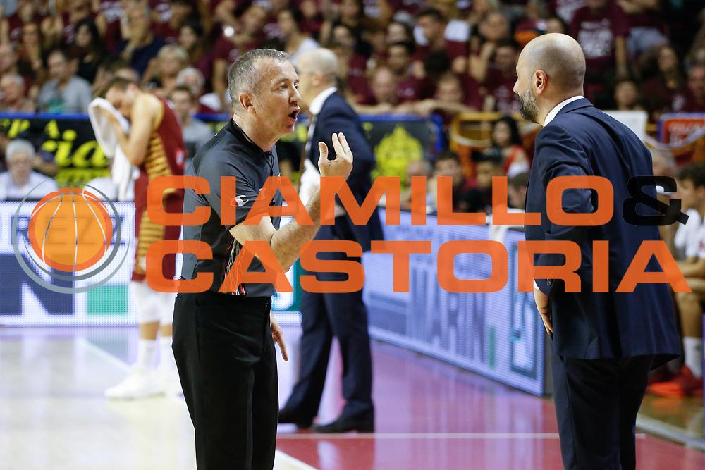 Maurizio Buscaglia<br /> Umana Reyer Venezia - Dolomiti Energia Aquila Basket Trento<br /> Lega Basket Serie A 2016/17 Finali Gara 01<br /> Venezia, 10/06/2017<br /> Foto Ciamillo-Castoria / M. Brondi